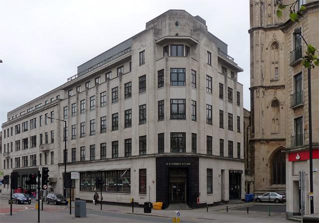 St Stephen's House, Colston Avenue, Bristol