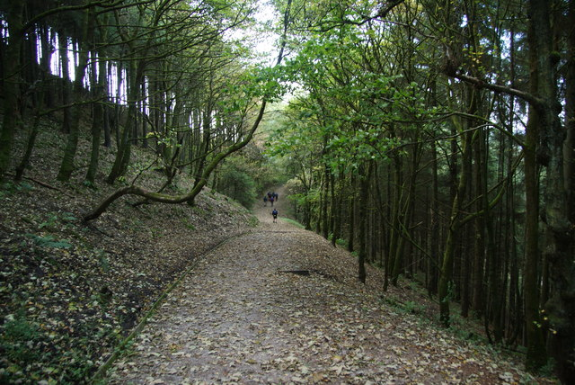 Path on the side of Nessit Hill
