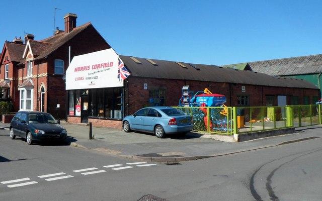 Morris Corfield depot, Craven Arms
