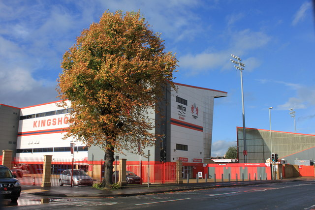 Kingsholm- the home of the 'Cherry and Whites'