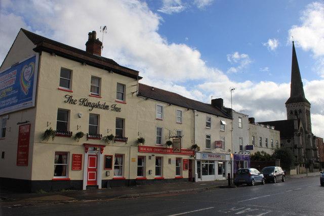 The Kingsholm Inn in Worcester Street, Gloucester