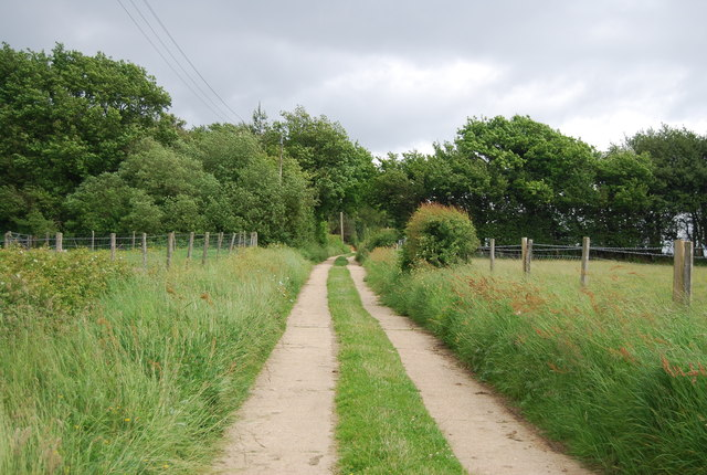 Track to Stonehouse