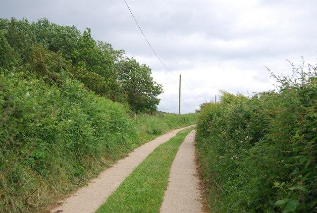 Track, High Weald