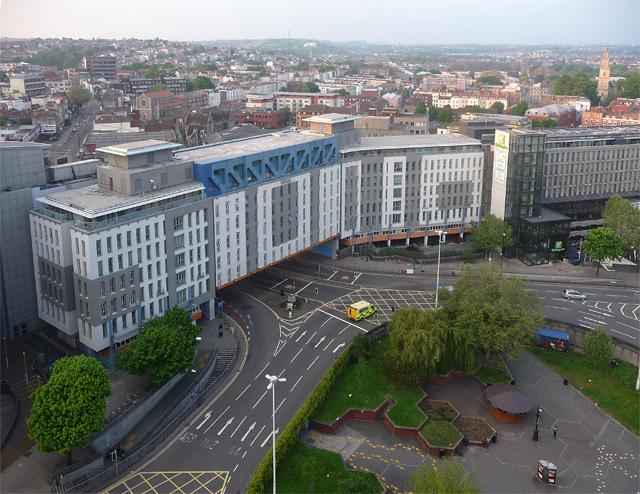 View from Marlborough Street, Bristol (2)