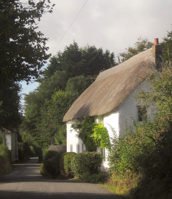 Thatched cottage, Daccombe