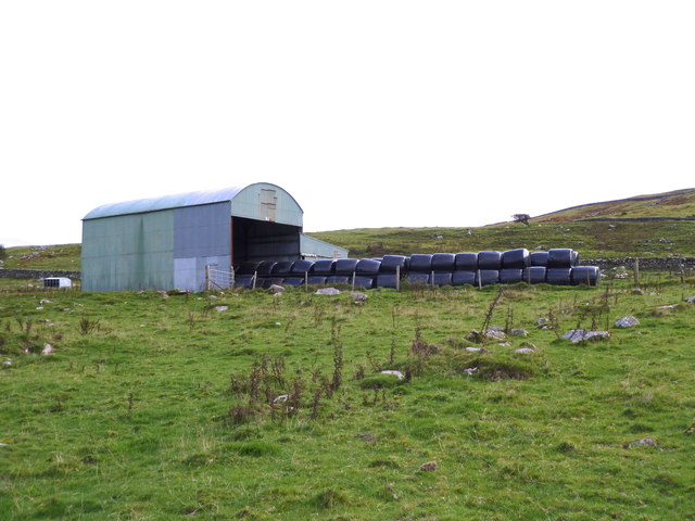 Winter feed laid up at Daffin Farm