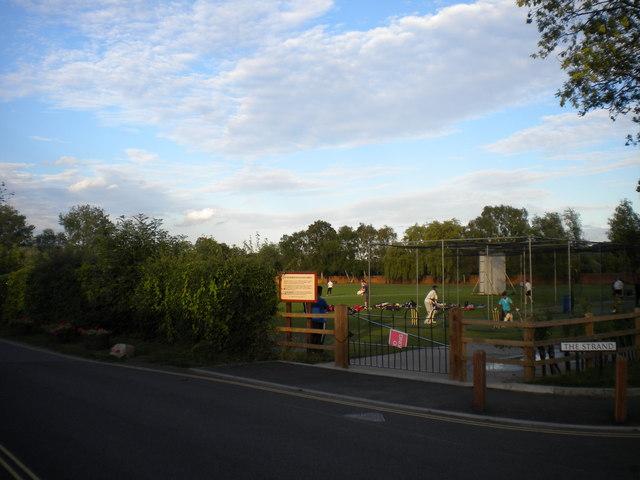 West end of cricket ground, Attenborough