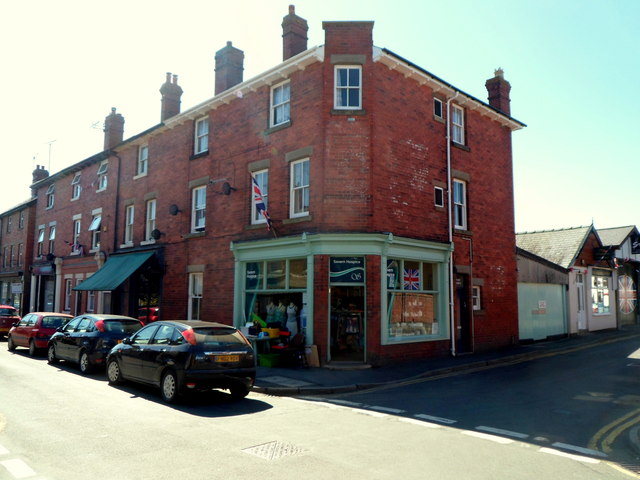 Severn Hospice shop in Craven Arms