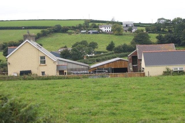 Bank Farm near Wolf's Castle