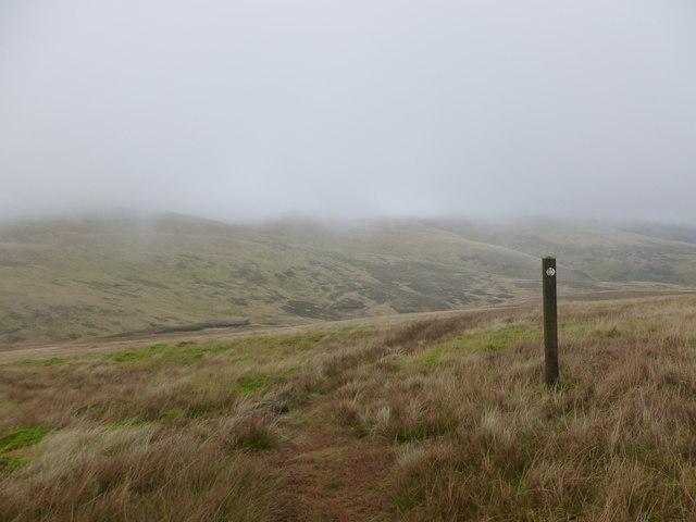 Southern Upland Way marker