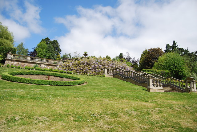Terrace and steps n chadwick geograph britain and ireland for Terrace steps