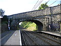 SJ9893 : Broadbottom Railway Station by John Topping