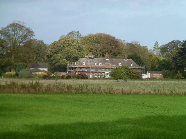Farmland near Anmer Hall in Norfolk