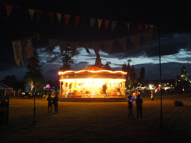 Merry-go-round, Belladrum Festival | Alpin Stewart