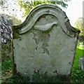 NN6008 : Old gravestone by Lairich Rig