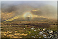 NN4166 : Brocken spectre above Coire Creagach by William Starkey
