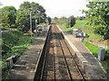 SJ6974 : Lostock Gralam railway station, Cheshire by Nigel Thompson
