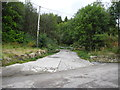 SD9905 : Entrance to Moorgate Quarry (disused) by John Topping