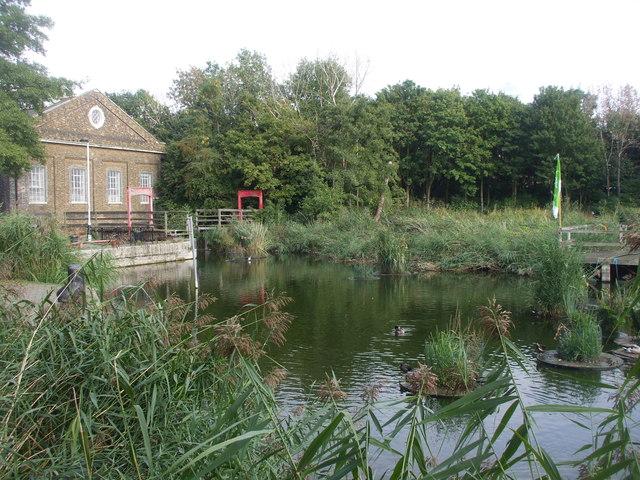 Lavender Pond, Rotherhithe, London