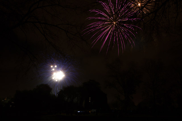 Enfield Town Enfield Town Park Fireworks