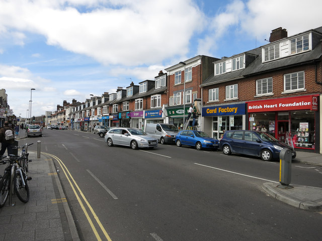 Portswood High Street Hugh Venables Geograph Britain