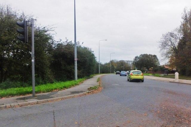 A585 road