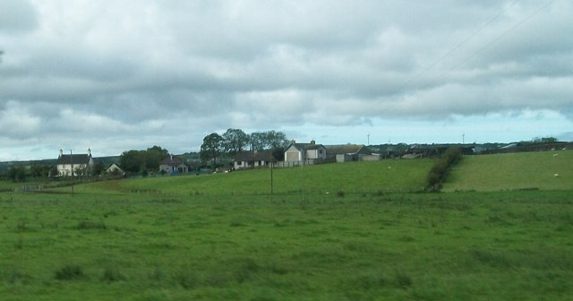 Rural settlement on Station Road, Ballynaloob