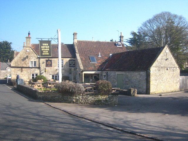 The Seven Stars Pub In Winsley Rod Allday Geograph