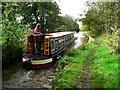 SJ8965 : Narrowboat - Macclesfield Canal by Anthony Parkes