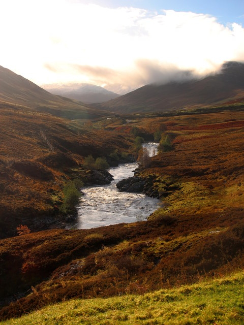 Upper Glen Roy