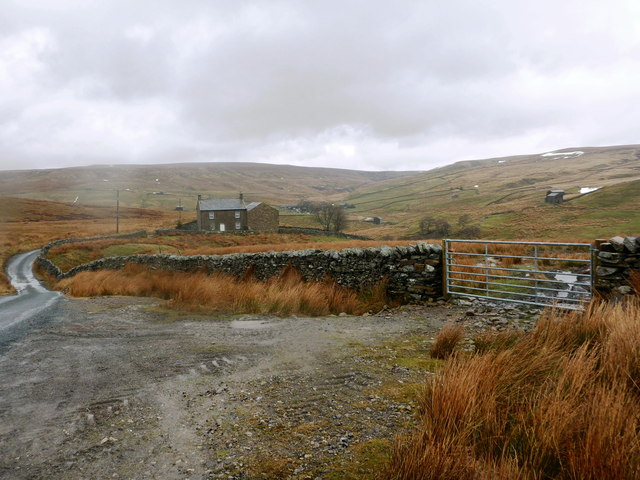 Black How from the Ravenseat road