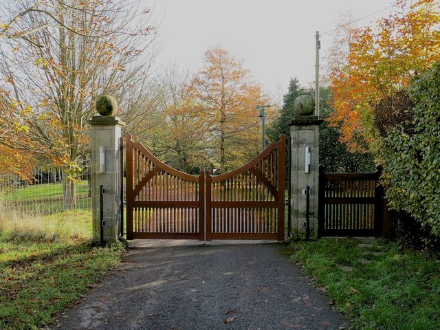 Entrance Of The Wilderness Wadhurst Park Peter Skynner