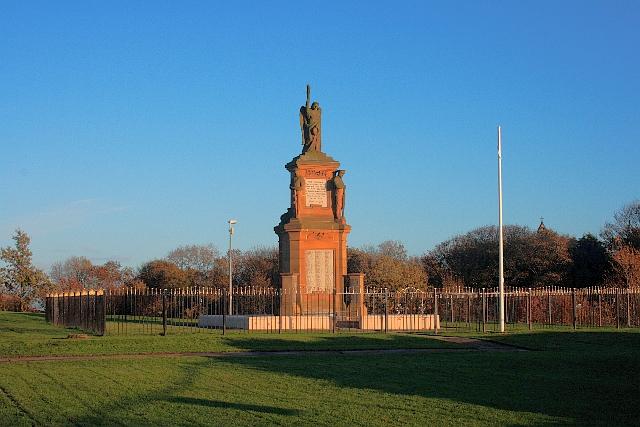 War Memorial, Seaham Town Park