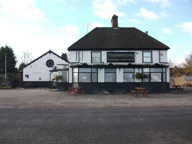 The Golden Lion - now another closed pub?