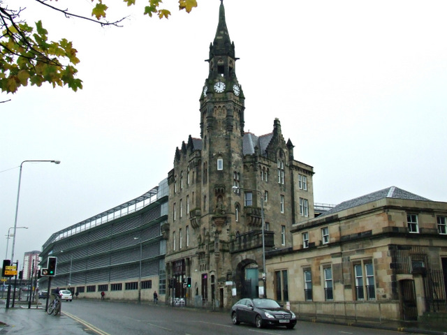 Glasgow Royal Infirmary Clock Tower 169 Thomas Nugent Cc