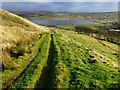 SD8228 : View Towards Clowbridge Reservoir : Week 48