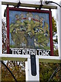 "SU8116 : Sign at ""The Royal Oak"" PH in Hooksway by Shazz"