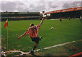 TQ1777 : Corner kick, Brentford v Burnley by David Howard