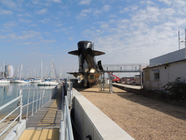 Museum Ship HMS Alliance-Gosport