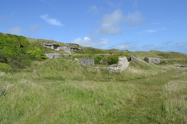 Derelict Military Installation on St. Aldhelm's Head