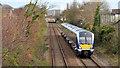 J4187 : Train, Barn, Carrickfergus (2 in 2013) by Albert Bridge