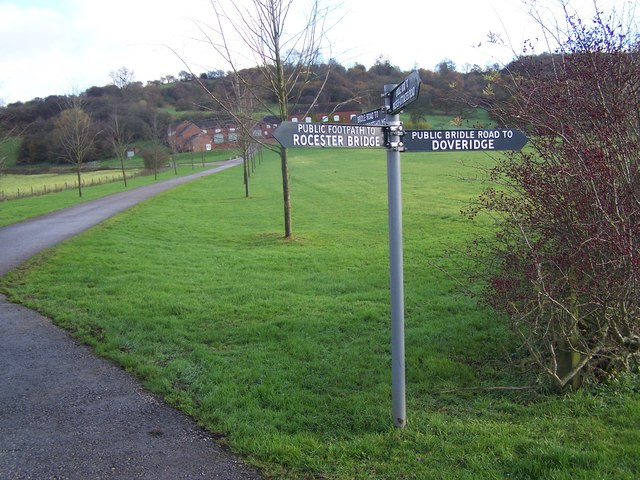 Signpost On Staffordshire Way
