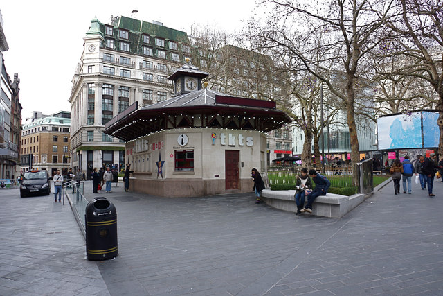 Ticket office leicester square anthony o 39 neil cc by sa - Leicester city ticket office contact number ...