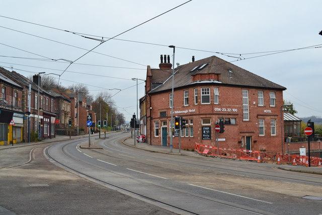 The Hillsborough Hotel And Langsett Road Sheffield