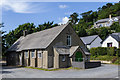 SN5981 : St Padarn's Church Hall by Ian Capper