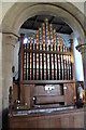 TF0705 : Organ, St John's church, Barnack by J.Hannan-Briggs
