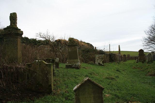 Kilchenzie graveyard