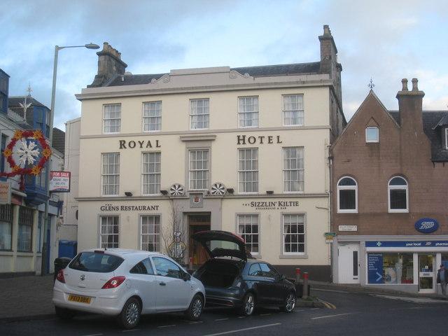 Royal Hotel Perth Scotland