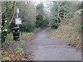 SE1546 : Track - end of Sun Lane by Betty Longbottom