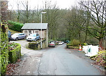 SE0023 : Church Bank Lane, Cragg Vale by Humphrey Bolton